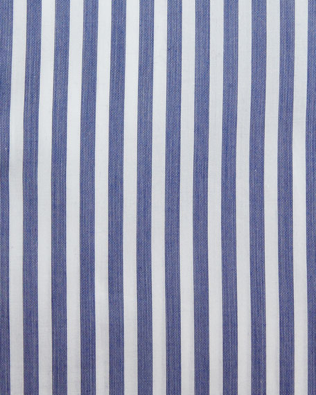 Bengal Stripe Dress Shirt, Navy/White