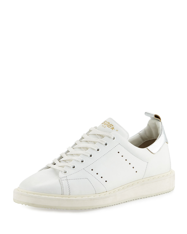 Golden Goose Men's GGDB STARter Low-Top Sneaker White