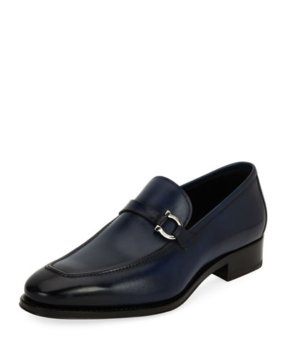 Tramezza Gancini-Bit Loafer, Blue