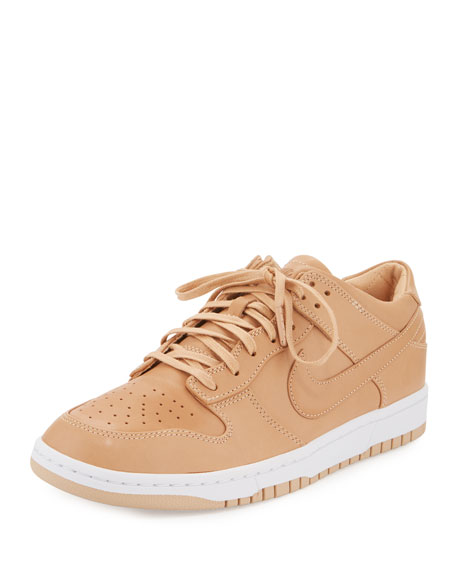 NikeLab Men's Dunk Lux Low-Top Sneaker, Nude
