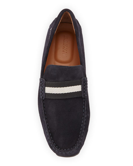 Pearce Suede Leather Driver