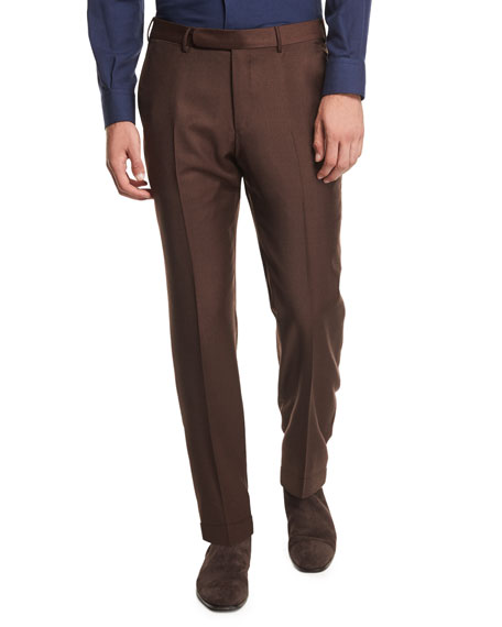 Ermenegildo Zegna High Performance Trofeo® Wool Trousers,