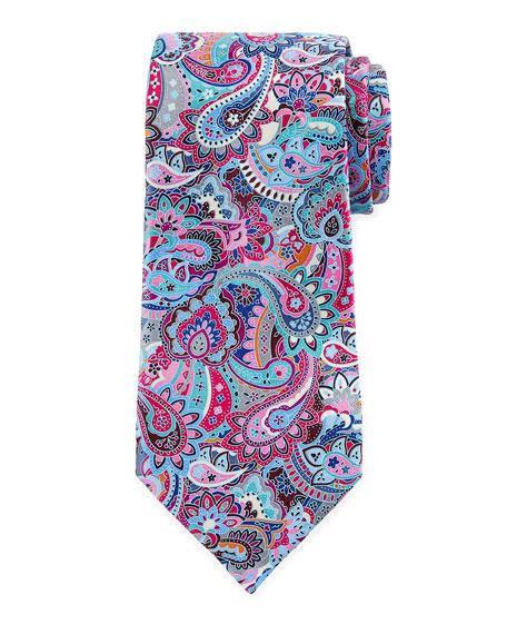 Ermenegildo Zegna Quindici Paisley Tie