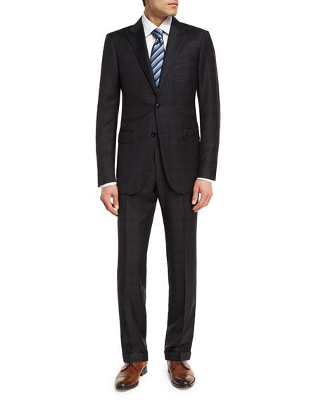 Ermenegildo Zegna Trofeo® Wool Plaid Two-Piece Suit