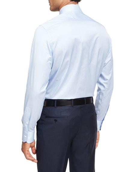 Trofeo® Narrow-Stripe Cotton Dress Shirt