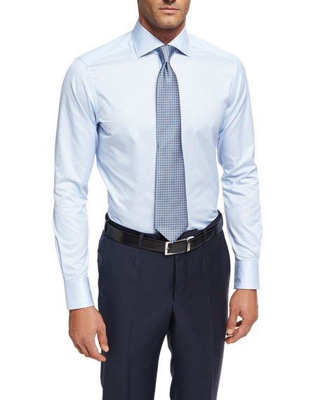 e9b619b0 Trofeo® Narrow-Stripe Cotton Dress Shirt