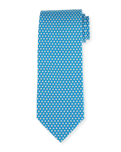 Coffee Cup Silk Twill Tie