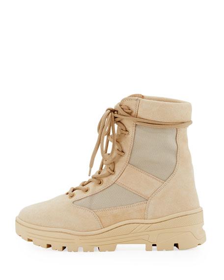 b3618718726 Yeezy Men s Suede   Mesh Combat Boot