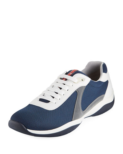 Men's Low-Top Trainer Sneaker