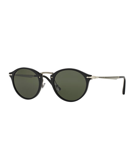 Persol Calligrapher Edition PO3166S Round Acetate Sunglasses