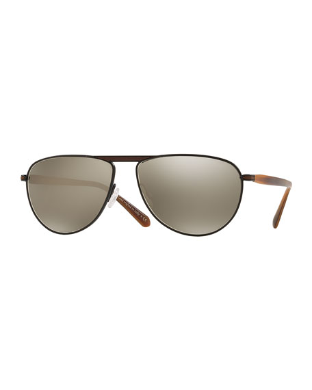 Oliver Peoples pour Berluti Conduit Street 59 Mirrored