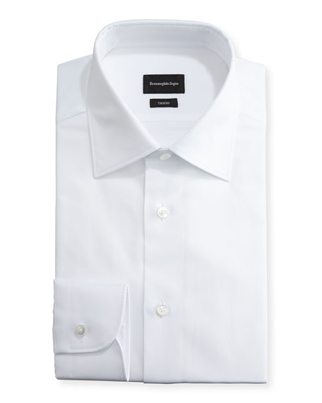 Trofeo® Solid Dress Shirt, White