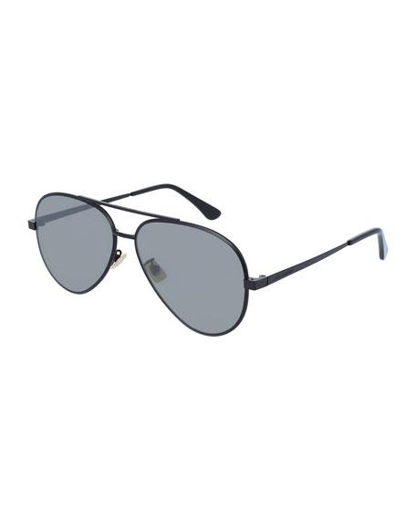 Men's Classic 11 Zero Aviator Sunglasses, Black