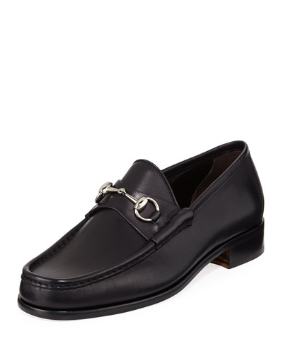 Classic Leather Horsebit Loafer