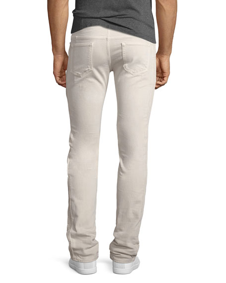 596 Distressed Skinny Jeans