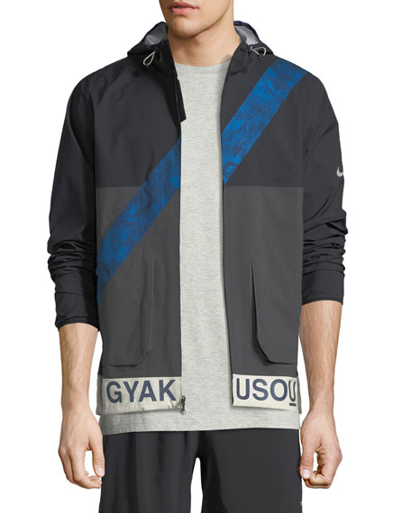 Gyakusou Hooded Zip-Front Jacket