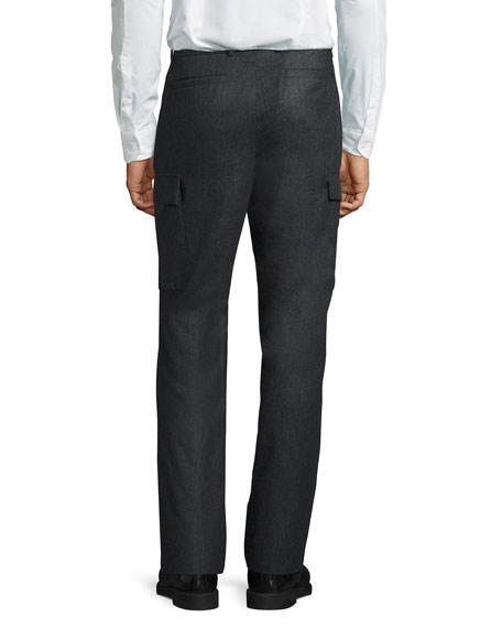 Wool Cargo Trousers