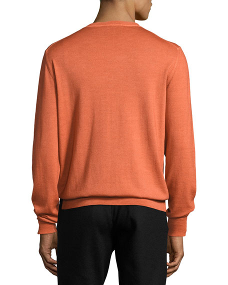 Wool Crewneck Sweater