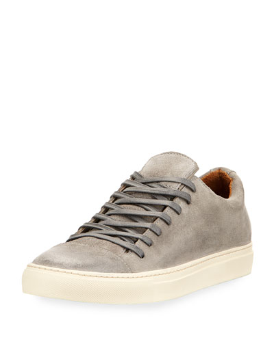 315 Reed Suede Low-Top Sneaker, Gray