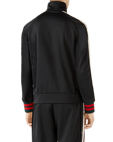 Logo Track Jacket, Black