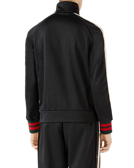 Logo Track Jacket, Black