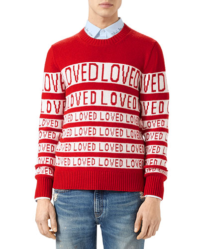 Wool Loved Jacquard Sweater