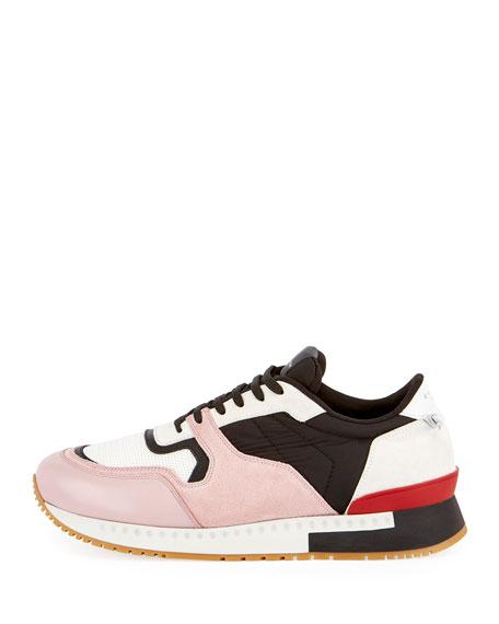 Active Textile & Suede Running Sneaker