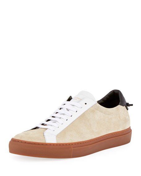 contrast lace-up sneakers - Brown Givenchy PNF4Q