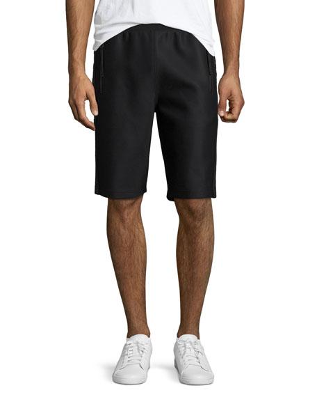 Scuba Mesh Sweat Shorts, Black