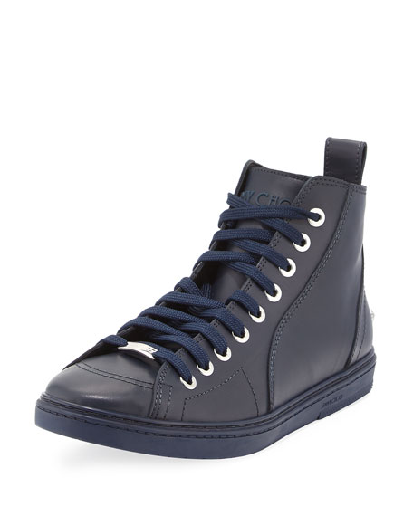 Colt Men's Leather High-Top Sneaker