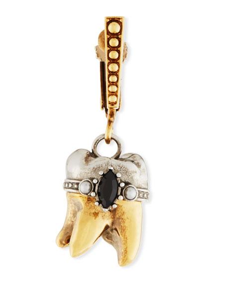 Alexander McQueen Men's Single Tooth Dangle Earring
