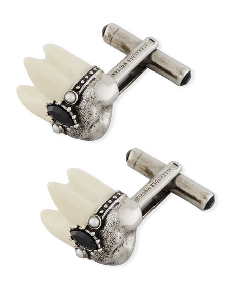 Alexander McQueen Tooth Cuff Links