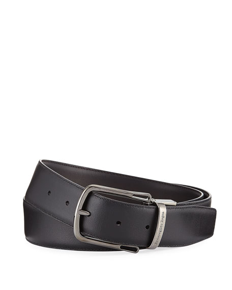 Reversible Calf Leather Belt