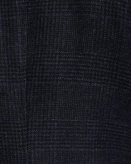 Shelton Prince of Wales Canvas Cardigan Jacket