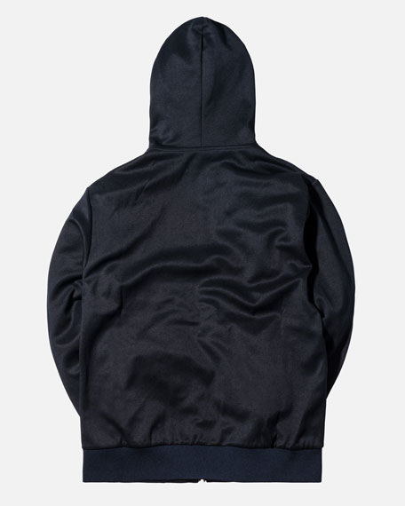 Full-Zip Logo Hoodie, Navy