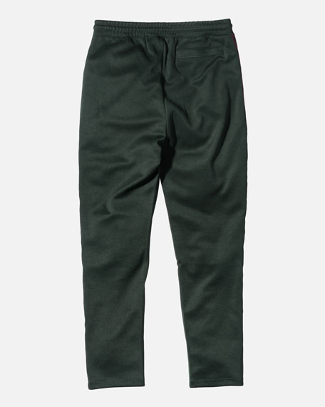 Embroidered Track Pants, Green