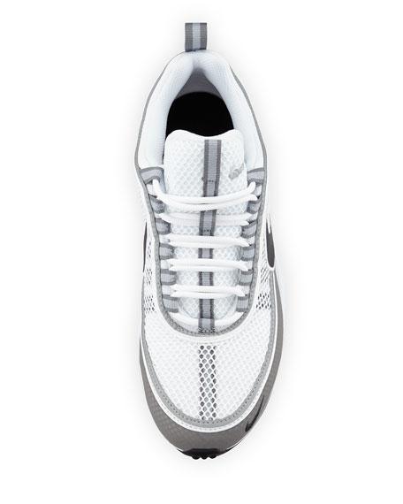 Men's Air Zoom Spiridon Sneaker, White/Black