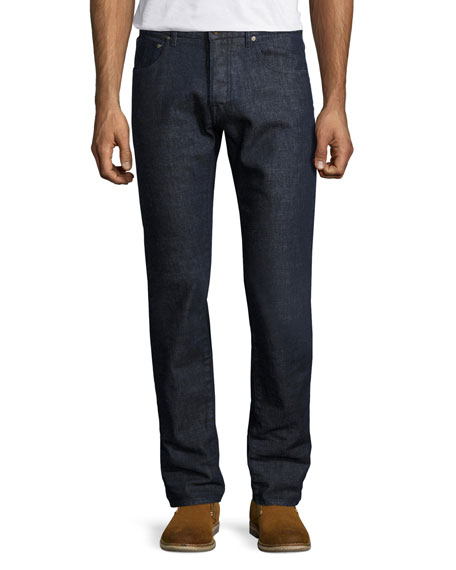Etro Regular-Fit Straight-Leg Jeans, Blue