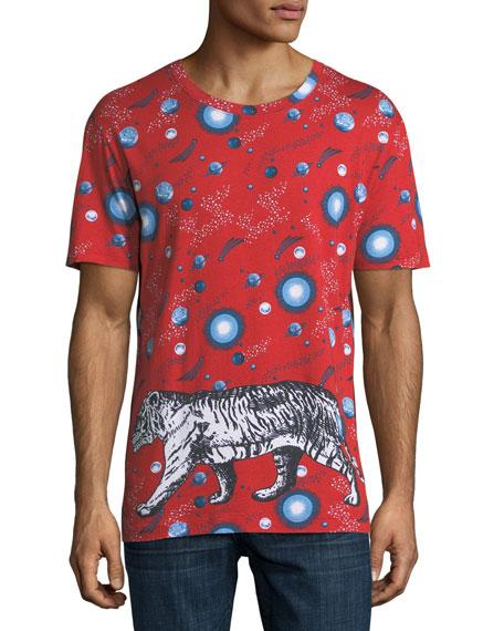 fc6eba570ef Gucci Space Tiger T-Shirt
