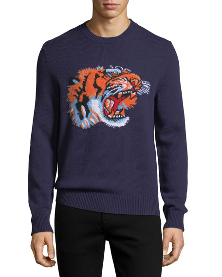Tiger Crewneck Sweater