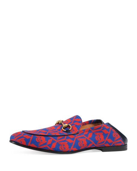 Brixton Geometric Skulls Print Loafer, Multicolor