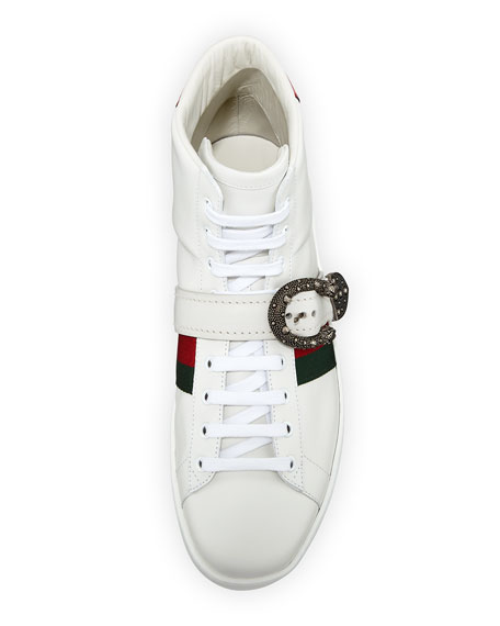 Ace High-Top Sneaker with Dionysus Buckle