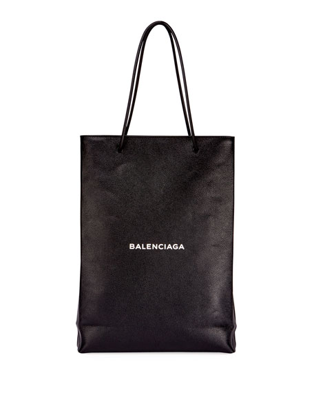 e37de9db2b96 Balenciaga Men s Medium North-South Leather Tote Bag