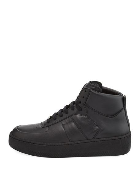 Men's MM1 Leather Mid-Top Sneaker