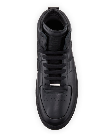 Men's MM1 Leather Mid-Top Sneaker