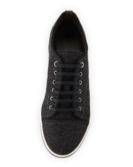 Virgin Wool Low-Top Sneaker