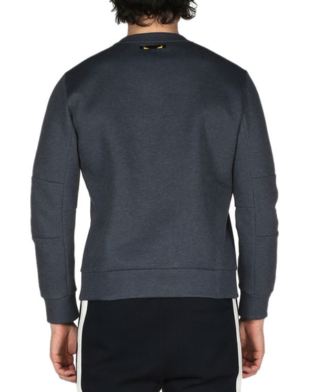 Monster Eyes Sweatshirt, Dark Gray