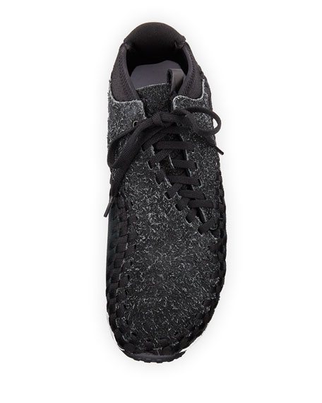 Men's Air Footscape Woven Chukka Sneaker, Black/Gray