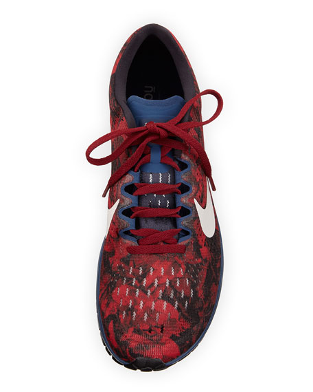 Men's Zoom Mesh Sneaker, Red