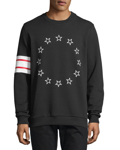 Stars & Stripes Cotton Fleece Sweatshirt